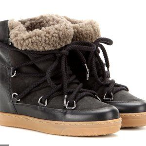 Isabel Marant Nowles Ankle Boots Black 40